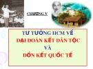 Bài giảng Tư tưởng Hồ Chí Minh: Chương 5 - Hà Tân Bình