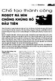 Chế tạo thành công robot rà mìn chống khủng bố đầu tiên