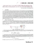 Giải pháp nâng cao chất lượng điện áp trong lưới điện phân phối khi kết nối các nguồn điện phân tán