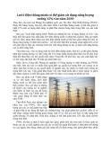 Lưới điện thông minh có thể giảm sử dụng năng lượng xuống 12% vào năm 2030