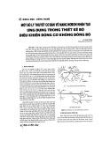 Một số lý thuyết cơ bản về mạng nơron nhân tạo ứng dụng trong thiết kế bộ điều khiển động cơ không đồng bộ