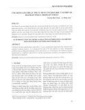 Ứng dụng giải thuật tối ưu phản ứng hóa học vào một số bài toán tối ưu trong kỹ thuật