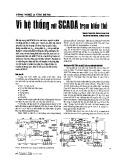 Vi hệ thống với SCADA trạm biến thế