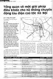 Tổng quan về một giải pháp điều khiển cho hệ thống chuyển động tàu điện cao tốc Hà Nội (1)