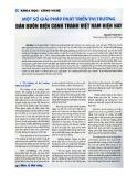 Một số giải pháp phát triển thị trường bán buôn điện cạnh tranh Việt Nam hiện nay