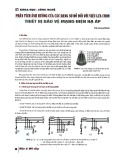 Phân tích ảnh hưởng của các dạng sơ đồ đối với việc lựa chọn thiết bị bảo vệ mạng điện hạ áp