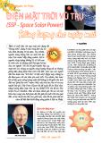 Điện mặt trời vũ trụ (SSP - Space Solar Power) năng lượng cho ngày mai