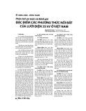 Phân tích an toàn và đánh giá đặc điểm các phương thức nối đất của lưới điện 35kV ở Việt Nam