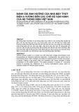 Đánh giá ảnh hưởng của nhà máy thủy điện A Vương đến các chế độ vận hành của hệ thống điện Việt Nam