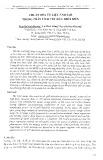 Chuẩn hóa tư liệu ảnh SAR trong phân tích vết dầu trên biển