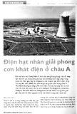 Điện hạt nhân giải phóng cơn khát điện ở châu Á