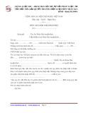 Mẫu đơn xin giảm nhẹ hình phạt - Hãng Luật IMC