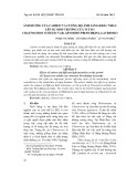 Ảnh hưởng của carbon và cường độ ánh sáng khác nhau lên sự sinh trưởng của vi tảo Chaetoceros subtilis var. abnormis Proschkina-Lavrenko