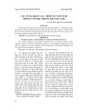 Cầu cúng, khấn vái – niềm tin tâm linh trong văn học trung đại Việt Nam