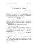 Vấn đề văn bản Ngự chế thi tam tập tại Viện Nghiên cứu Hán Nôm