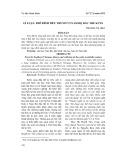 Lí luận, phê bình tiểu thuyết ở Nam Bộ đầu thế kỉ XX
