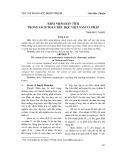 Khái niệm diện tích trong sách Toán tiểu học Việt Nam và Pháp