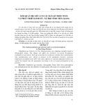 Mối quan hệ giữa cơ cấu dân số theo tuổi và phát triển kinh tế - xã hội tỉnh Tiền Giang