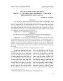 Mạch lạc diễn ngôn hội thoại trong các cặp thoại hỏi – đáp không tương hợp trong truyện ngắn Nam Cao