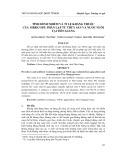 Tình hình nhiễm và tỉ lệ kháng thuốc của Vibrio spp. phân lập từ thủy sản và nước nuôi tại Tiền Giang