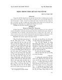 Mộng trong thơ chữ Hán Nguyễn Du