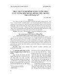 Thực chất vẻ đẹp hình tượng Vương Miện và tư tưởng hồi truyện mở đầu tiểu thuyết Nho lâm ngoại sử