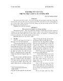 Báo Phụ nữ tân văn: những việc làm và tư tưởng mới