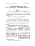 Tùng Vân Nguyễn Đôn Phục (1878 - 1954) – người lưu giữ quốc hồn, quốc túy trong du kí quốc ngữ