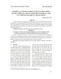 Nghiên cứu đánh giá một số bài tập phát triển tố chất thể lực cho nữ sinh viên có thể lực yếu của Trường Đại học Sư phạm Thành phố Hồ Chí Minh