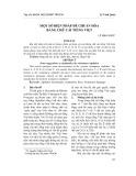 Một số biện pháp để chuẩn hóa bảng chữ cái tiếng Việt