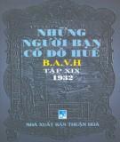 Ebook Những người bạn Cố đô Huế (Tập XIX): Phần 1 - NXB Thuận Hóa