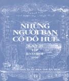 Ebook Những người bạn Cố đô Huế (Tập XVII): Phần 1 - XNB Thuận Hóa