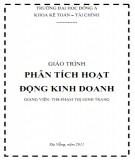 Giáo trình Phân tích hoạt động kinh doanh - ĐH Đông Á