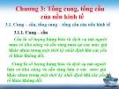 Bài giảng Kinh tế vĩ mô: Chương 3 - Trần Thị Thanh Hương