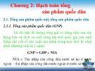 Bài giảng Kinh tế vĩ mô: Chương 2 - Trần Thị Thanh Hương