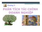 Bài giảng học phần Phân tích hoạt động kinh doanh: Chương 5 - Trần Thị Hương