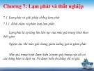 Bài giảng Kinh tế vĩ mô: Chương 7 - Trần Thị Thanh Hương