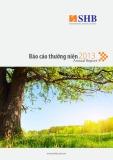 Báo cáo thường niên Annual Report 2013