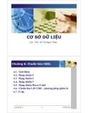 Bài giảng Cơ sở dữ liệu - Chương 6: Chuẩn hóa cơ sở dữ liệu - ThS. Lê Thị Ngọc Thảo