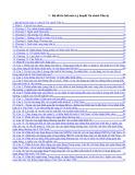 Bộ đề thi hết môn Lý thuyết tài chính tiền tệ 30 câu