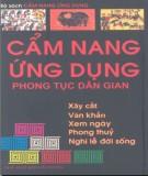 Ebook Cẩm nang ứng dụng phong tục dân gian: Phần 1 - Tuấn Khanh, Thanh Thủy