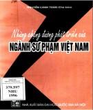 Ngành Sư phạm Việt Nam và những chặng đường phát triển: Phần 2