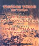 Việt Nam kỳ phùng sự lục, Điểu thám kỳ án - Lê Thánh Tông di thảo: Phần 2