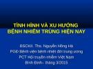 Bài giảng Tình hình và xu hướng bệnh nhiễm trùng hiện nay - BSCKII. ThS. Nguyễn Hồng Hà