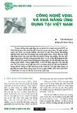 Công nghệ VDSL và khả năng ứng dụng tại Việt Nam