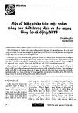 Một số biện pháp bảo mật nhằm nâng cao chất lượng dịch vụ cho mạng riêng ảo di động MVPN