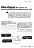 Chia sẻ mạng: Giải pháp hiệu quả cho triển khai băng rộng di động chi phí thấp