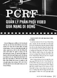 PCRF quản lý phân phối video qua mạng di động