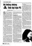 Hệ thống nhúng và thời đại hậu PC