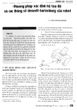 Phương pháp xác định hệ tọa độ và các thông số denavit-hartenberg của robot